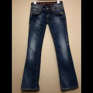Rock Revival Alanis Distressed Bootcut Jeans